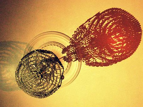 Geruch der Diktatur Symbolbild, Lampe © Privat
